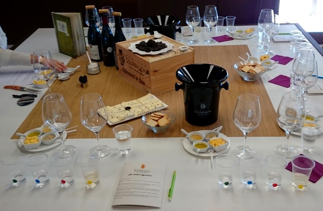 Atelier Dégustation Vins et Truffes au Domaine Tourbillon