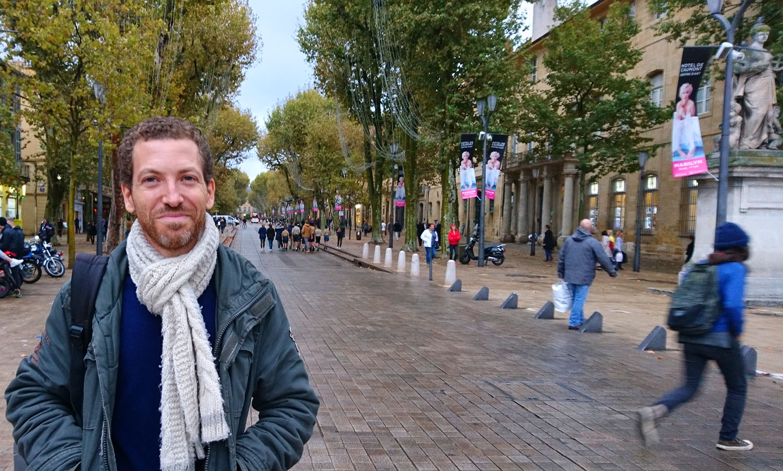 Visite guidée à Aix Le Visible est invisible