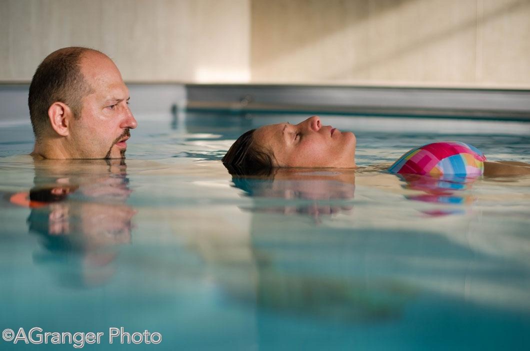 Watsu, le massage aquatique avec Alain Granger