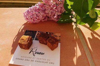 YellowCao, le cacao cru au miel et au pollen !